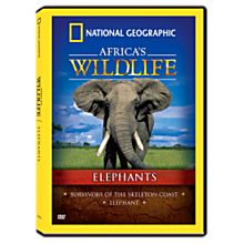 Africa's Wildlife Collection Elephants DVD