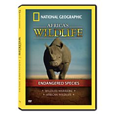 Africa's Wildlife Collection Endangered Species DVD