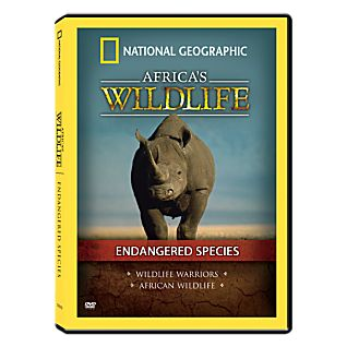 View Africa's Wildlife Collection Endangered Species DVD image