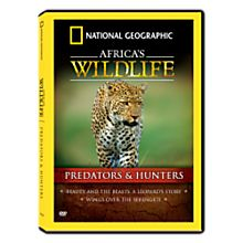 Africa's Wildlife Collection Predators and Hunters DVD, 2007