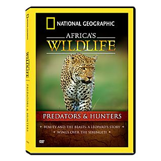 View Africa's Wildlife Collection Predators and Hunters DVD image