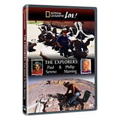 Live! The Explorers: Paul Sereno & Phillip Manning DVD, 2008