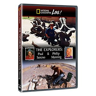View National Geographic Live! The Explorers: Paul Sereno & Phillip Manning DVD image