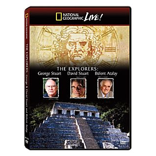 National Geographic Live! The Explorers: George & David Stuart and Bulent Atalay DVD