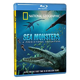 Sea Monsters - Blu-Ray Disc