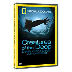 Creatures of the Deep: Devils of the Deep - Jumbo Squid DVD, 2008