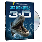 Sea Monsters: A Prehistoric Adventure 3-D DVD 1075357