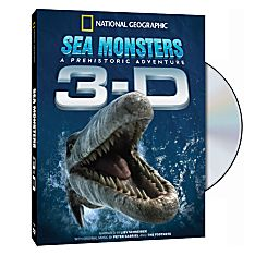 Sea Monsters: A Prehistoric Adventure 3-D DVD - 9781426294815