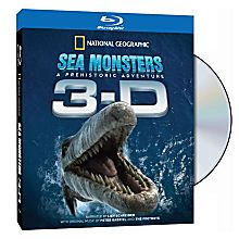 Sea Monsters: A Prehistoric Adventure 3-D Blu-Ray