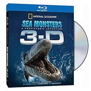 View Sea Monsters: A Prehistoric Adventure 3-D Blu-Ray image