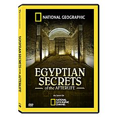 Egyptian Secrets of the Afterlife DVD, 2009