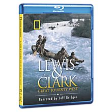 Lewis & Clark: Great Journey West Blu-ray Disc
