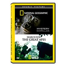 Mystery Gorillas & Search for the Great Apes DVD Double Feature, 2010