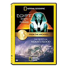 The Quest for Noah's Flood and Egypt: Secrets of The Pharaohs DVD, 2013