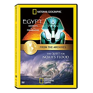 View The Quest for Noah's Flood and Egypt: Secrets of the Pharaohs DVD image