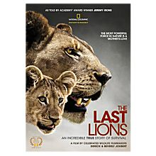 Wildlife Lion DVDs