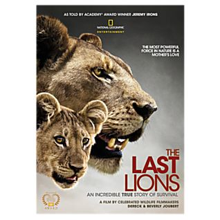 View The Last Lions DVD image