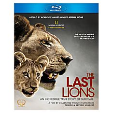 The Last Lions Blu-Ray Disc, 2011