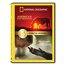 From Thearchives: Jane Goodall: My Life with Chimpanzees and America's Lost Mustangs DVD, 2001