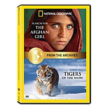 Tigers of the Snow and Search for the Afghan Girl DVD