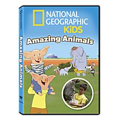 National Geographic Kids Amazing Animals DVD