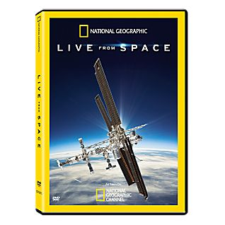 View Live From Space DVD image