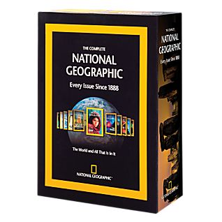 The Complete National Geographic on 6 DVD-ROMs