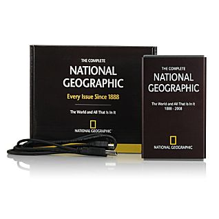 The Complete National Geographic on 160-GB Hard Drive