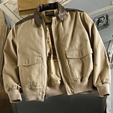 Men's Pacific Theater A-2 Cotton Bomber Jacket