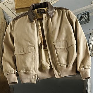View Pacific Theater A-2 Cotton Bomber Jacket image