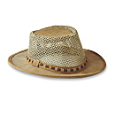African Suede Mesh Hat