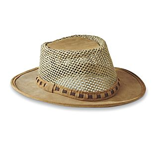 National Geographic African Suede Mesh Hat