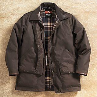 Drover's Oilskin Jacket