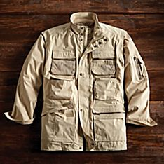Travel Jacket with Pockets Mens