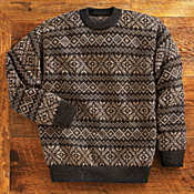 Inca Star Alpaca Sweater