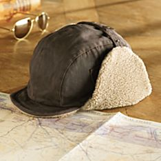 Fleece-lined Aviator Cap