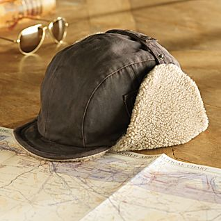 View Fleece-lined Aviator Cap image