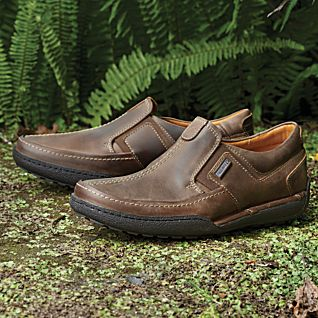 Men's Leather Walking Shoes