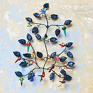 Guatemalan Folk Art Nesting Tree