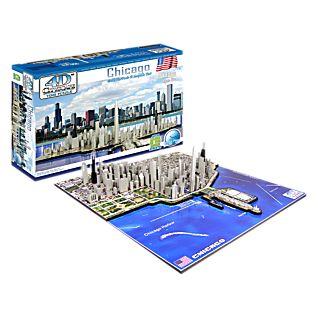 4-D Cityscape Chicago Puzzle