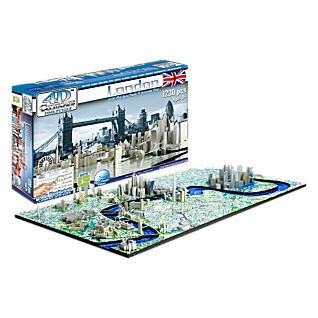 4-D Cityscape London Puzzle