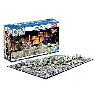 4-D Cityscape Las Vegas Puzzle