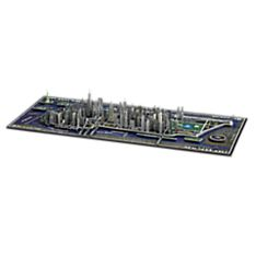 4-D Cityscape New York City Puzzle, Ages 12 and Up