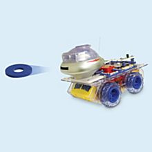 Deluxe Remote-Controlled Snap Circuits Rover, Ages 8 and Up