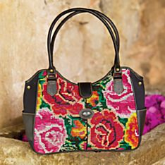 Handcrafted Maya Tapestry Bag