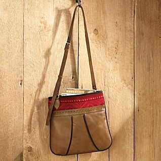 Oruro Leather Bag - Light Brown