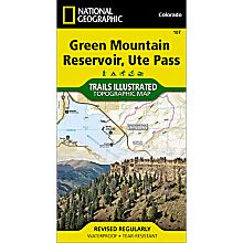 107 Green Mountain Reservoir/Ute Pass Trail Map, 2007