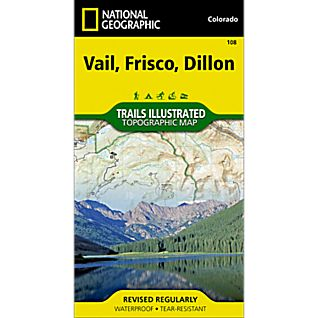 View 108 Vail/Frisco/Dillon Trail Map image