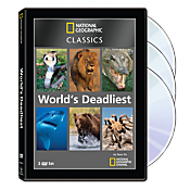 National Geographic Classics: World's Deadliest 3-DVD Set 1093035
