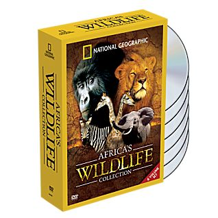 Africa's Wildlife Collection DVD Set